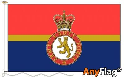 -ARMY CADET FORCE STYLE A  ANYFLAG RANGE - VARIOUS SIZES